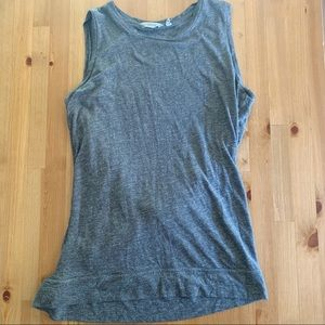 Athleta Gray open twist back Tank